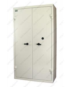 Double Door D1900 Secure Cabinet Custom Layout